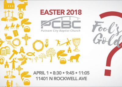 PCBC: Easter 2018